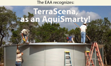 "EAA recognizes TerraScena as ""Aquifer Smart"" community"