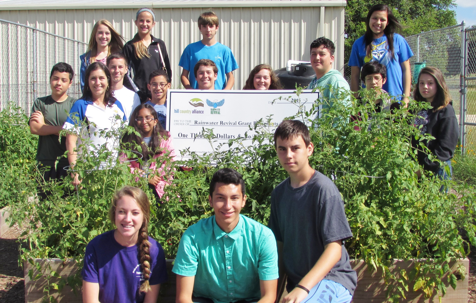 Six Schools Win Rainwater Revival Grants to Fund Conservation Projects