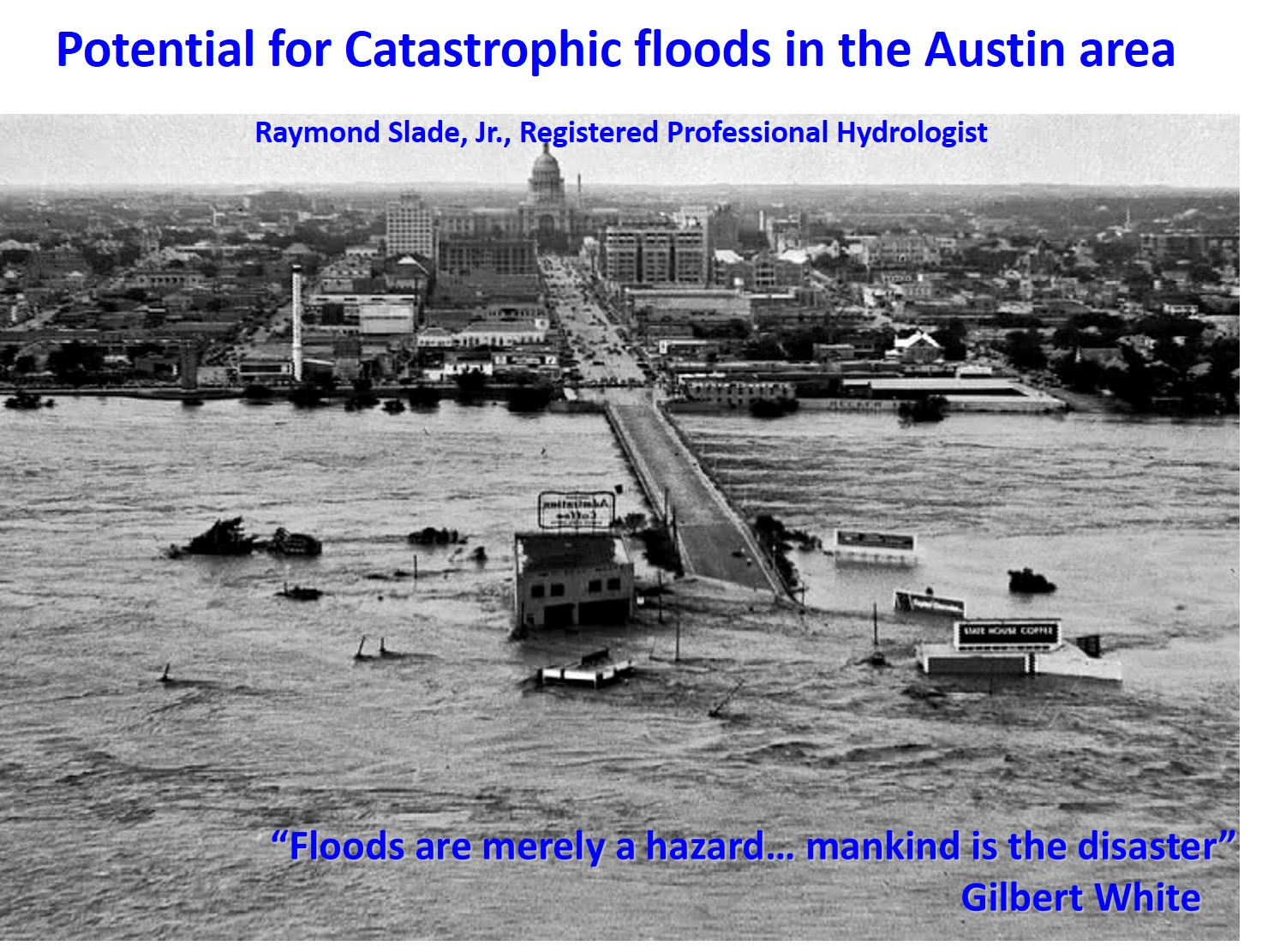 The History of Central Texas Floods