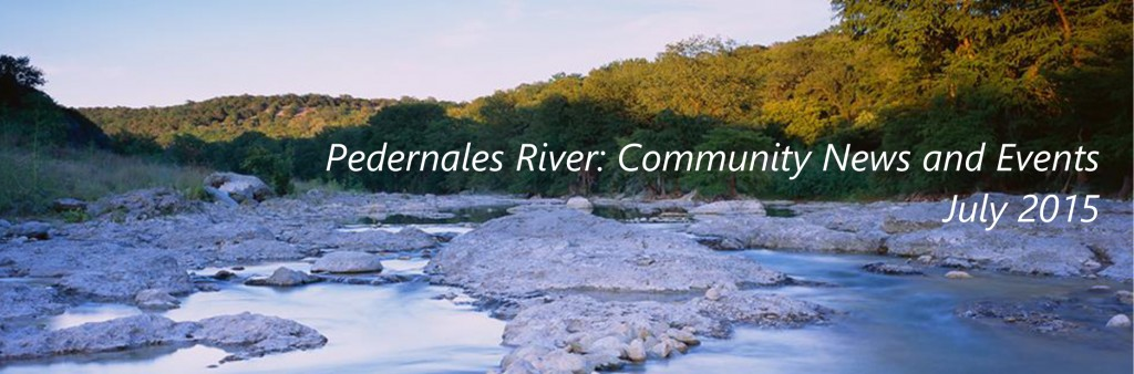 Pedernales News and Events: APRIL 2015
