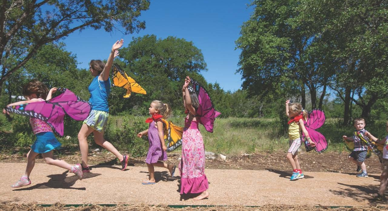Teacher Celebration at the Wildflower Center, Sept. 3
