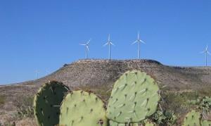 Rivard Report - wind farm