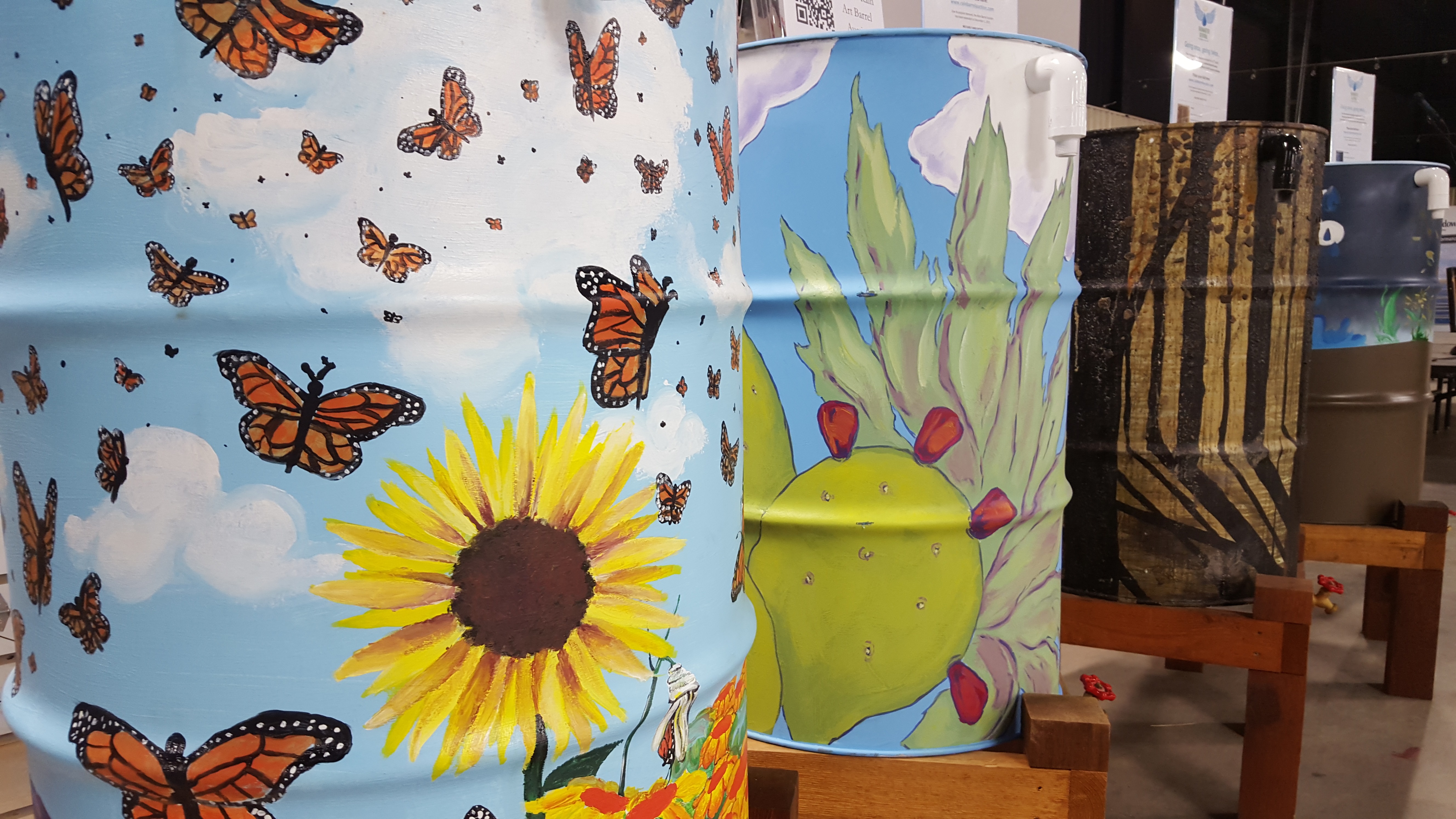 The Rain Barrel Art Auction has been extended to December 1