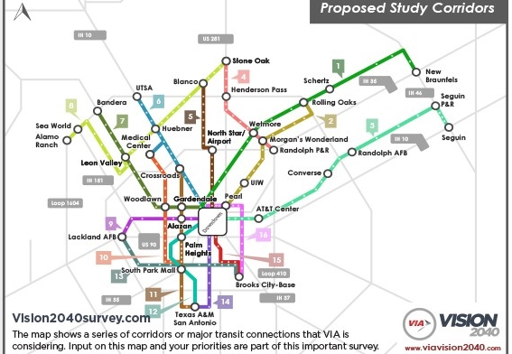 Transit planning in San Antonio, let your voice be heard