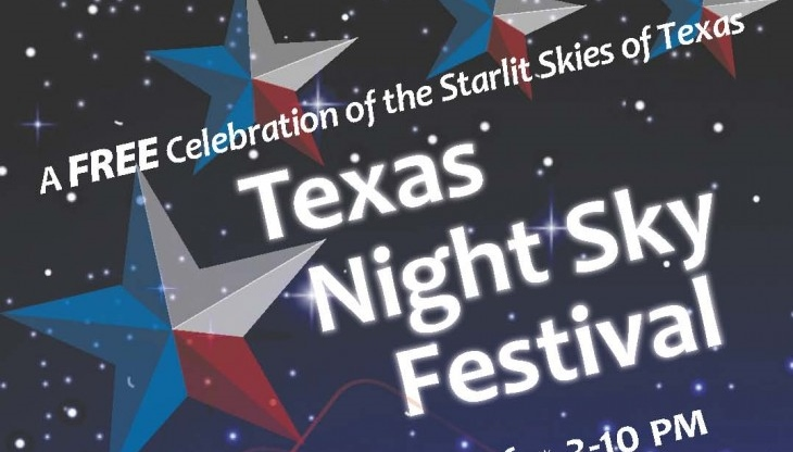 Texas Night Sky Festival – Coming March 5th A Star-Studded Event for the Whole Family