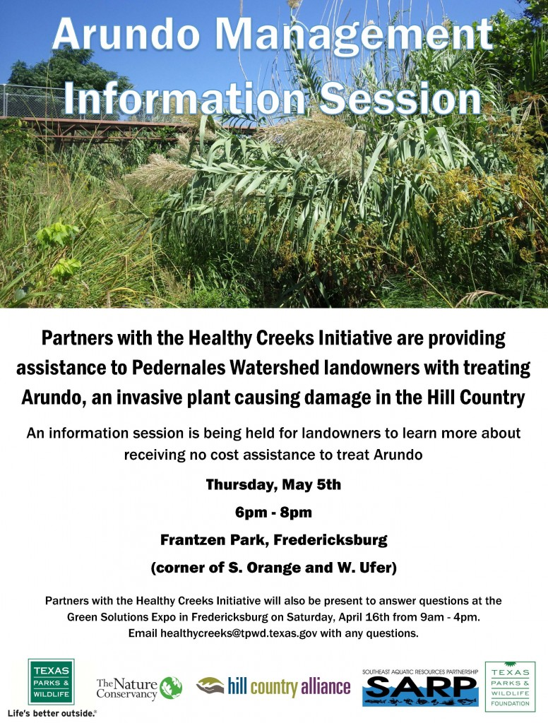Info Session-Pedernales-May 5 2016