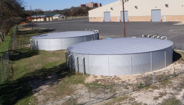 Kerr County honored for exhibit hall's rain-catching system