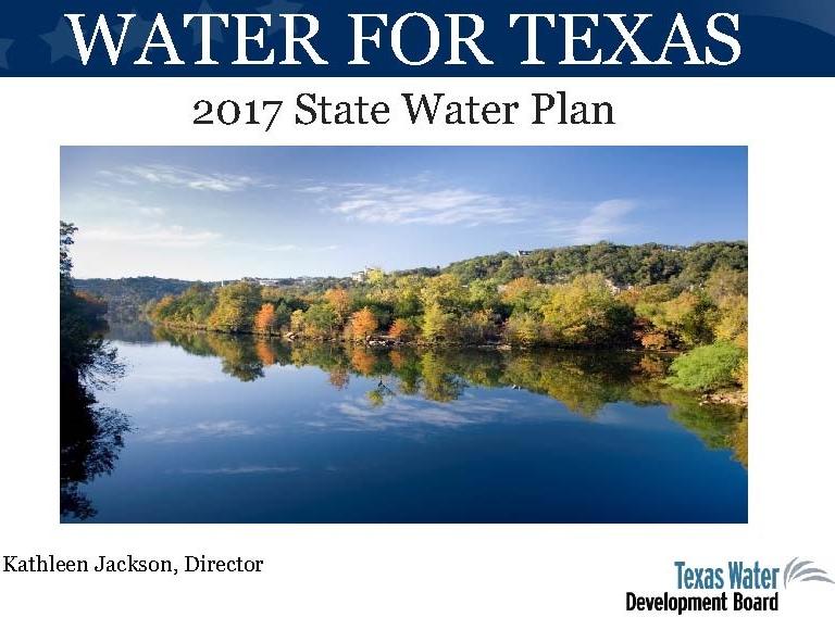 State water plan