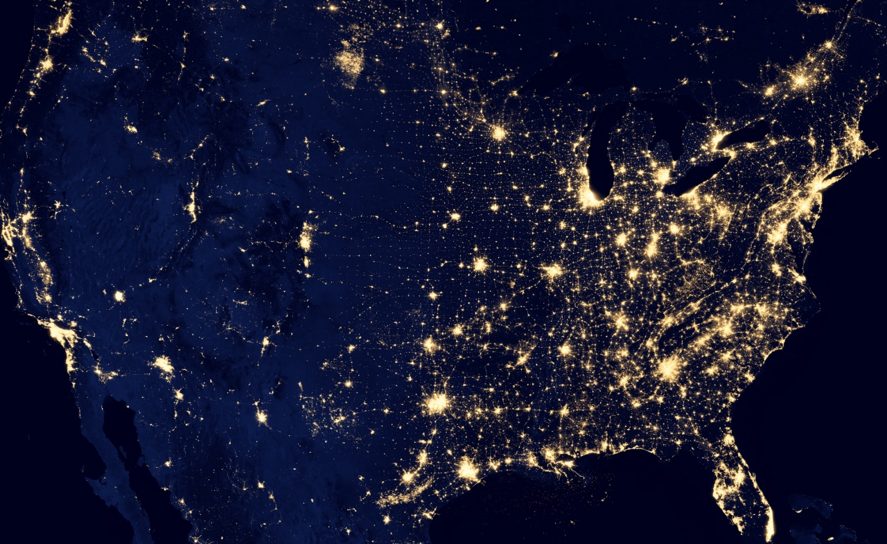 Western cities try to cut light pollution