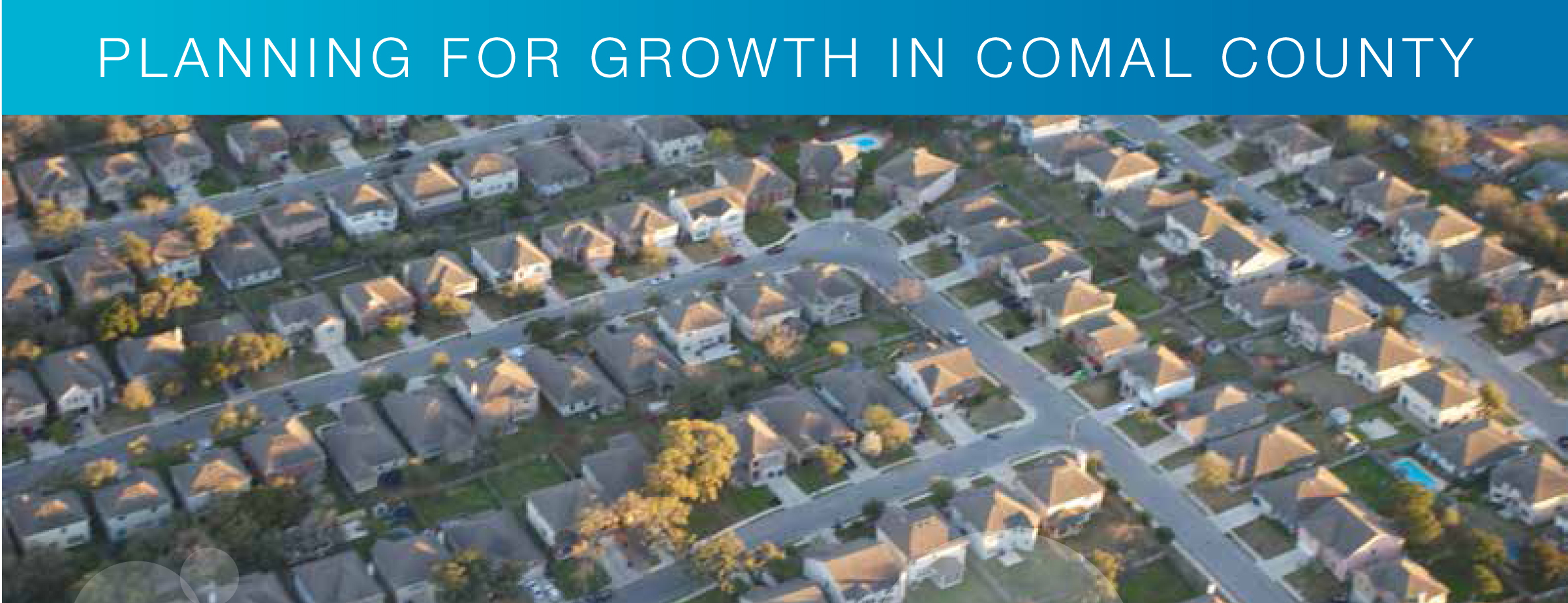 """Conference presentations from """"Planning for Growth in Comal County"""""""