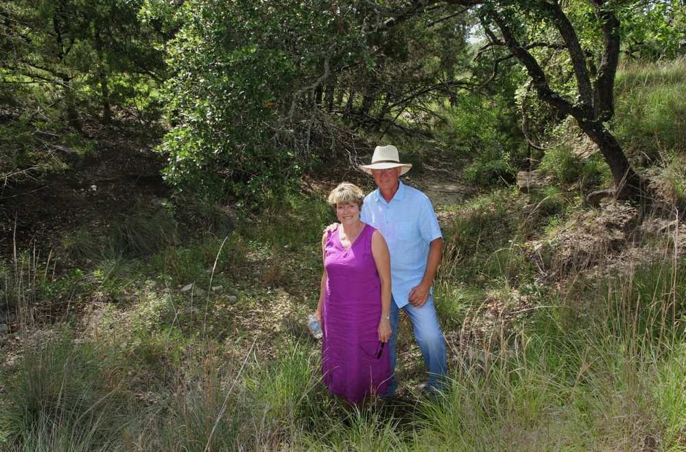 Texas Lone Star Land Stewards Recipients Named, Hill Country Landowners Kim Bergman and Pam Mabry Bergman Honored