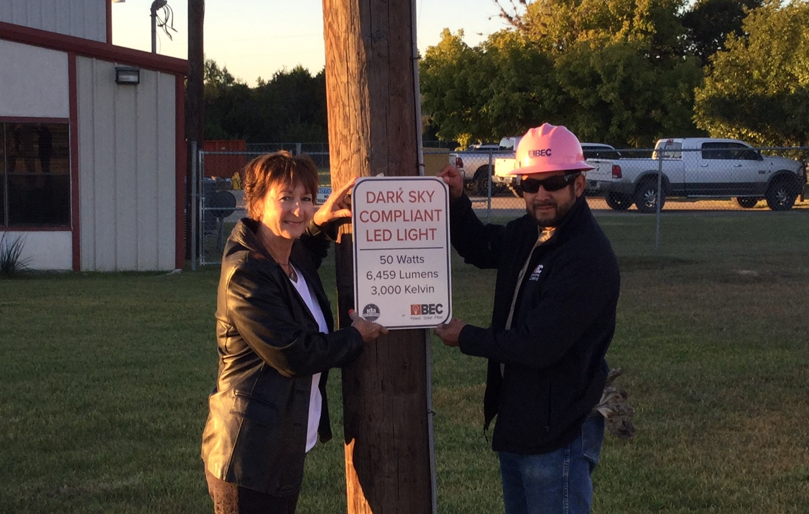 Bandera Electric Cooperative helps customers choose dark sky friendly lighting