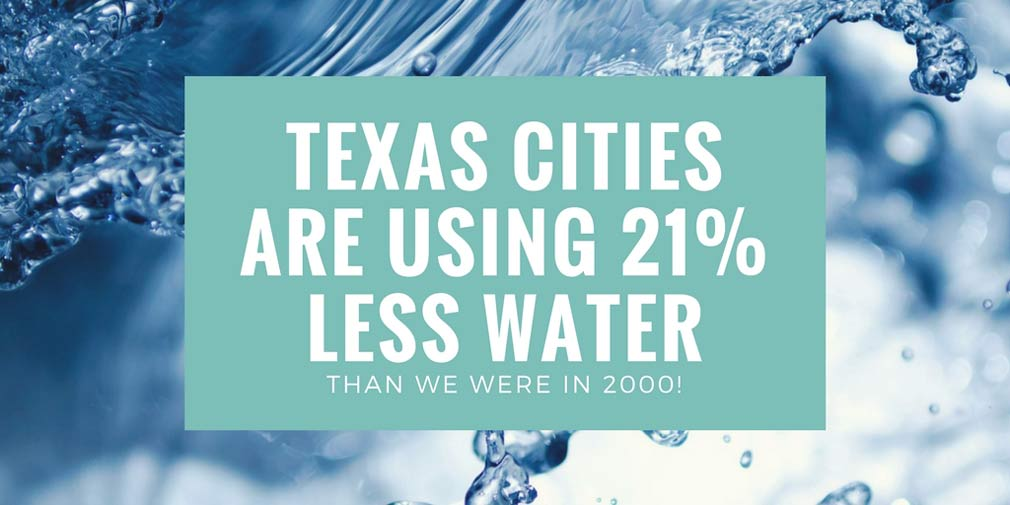 Texas Has An Epic Story To Tell About Water Conservation