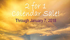Ring in the new year with a 2 for 1 calendar sale!