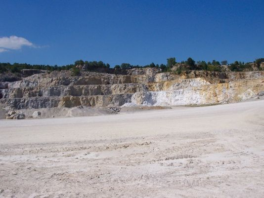 Community members protest permit for proposed Vulcan Quarry