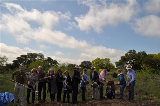 Groundbreaking held for Gay Ruby Dahlstrom Preserve