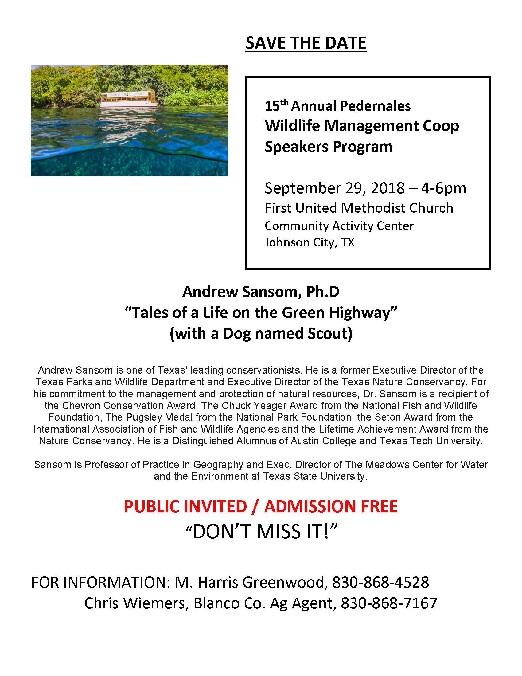 public speaking meadows center texas