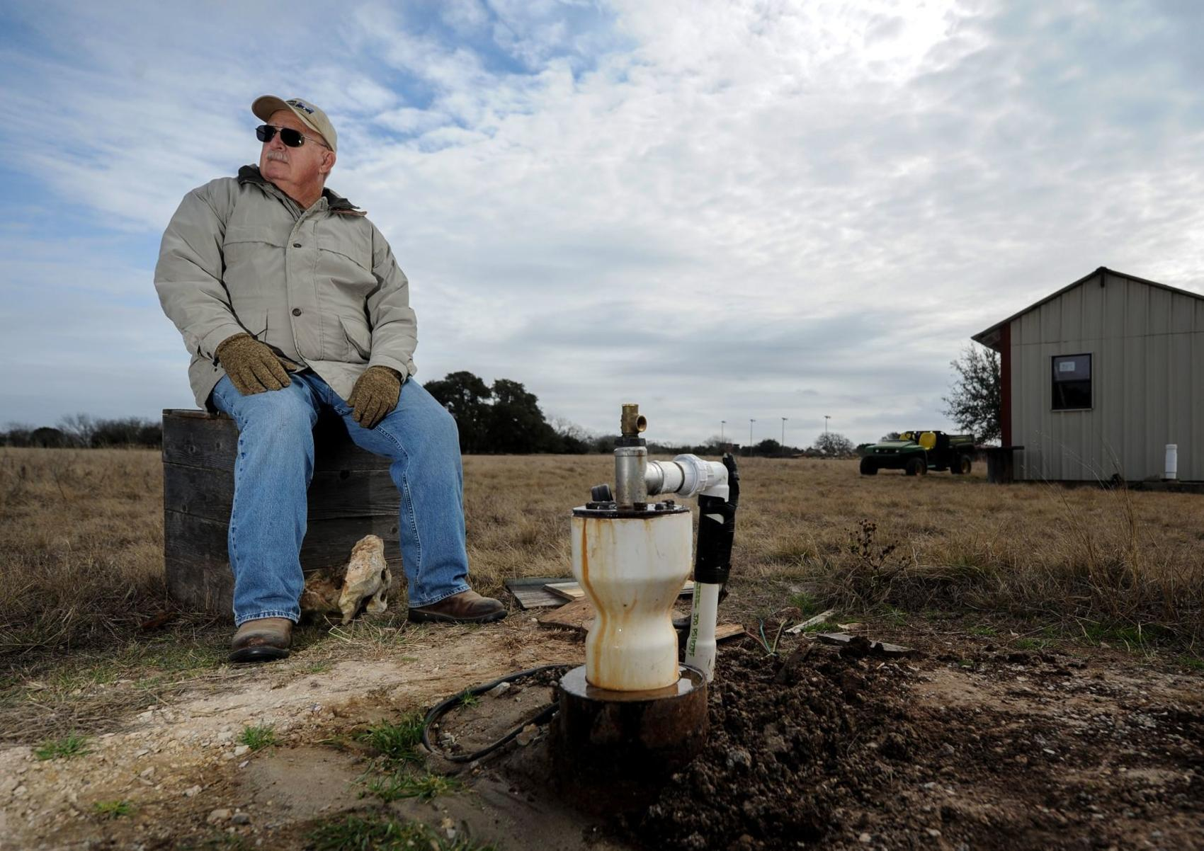 Well's gone dry: aquifers taking a hit during the drought
