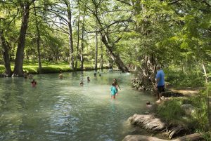 blue hole texas wimberley wastewater quality