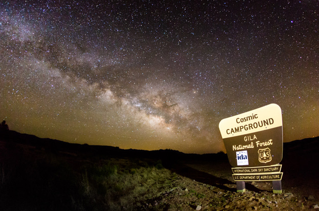 New Mexico blazing a dark sky trail