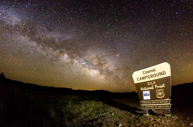 New Mexico blazing a dark sky trail