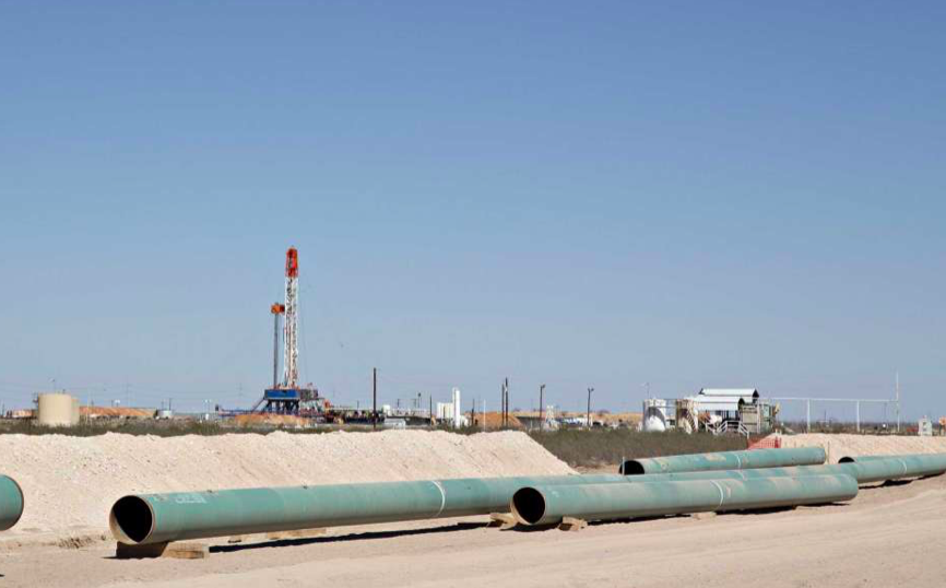Are pipeline land takings in the public interest if oil, gas headed overseas?