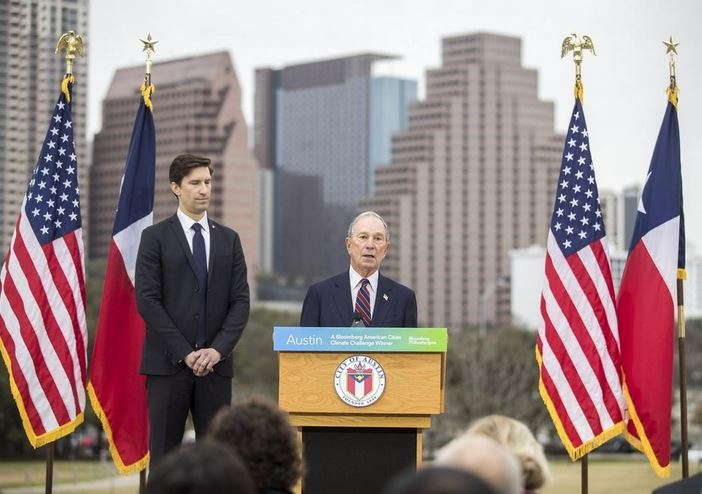 Thanks to ambitious goals, Austin wins Bloomberg climate change challenge