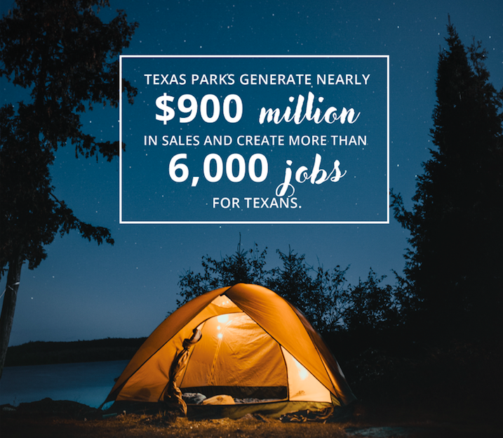 State parks a boon to Texas economy according to new report