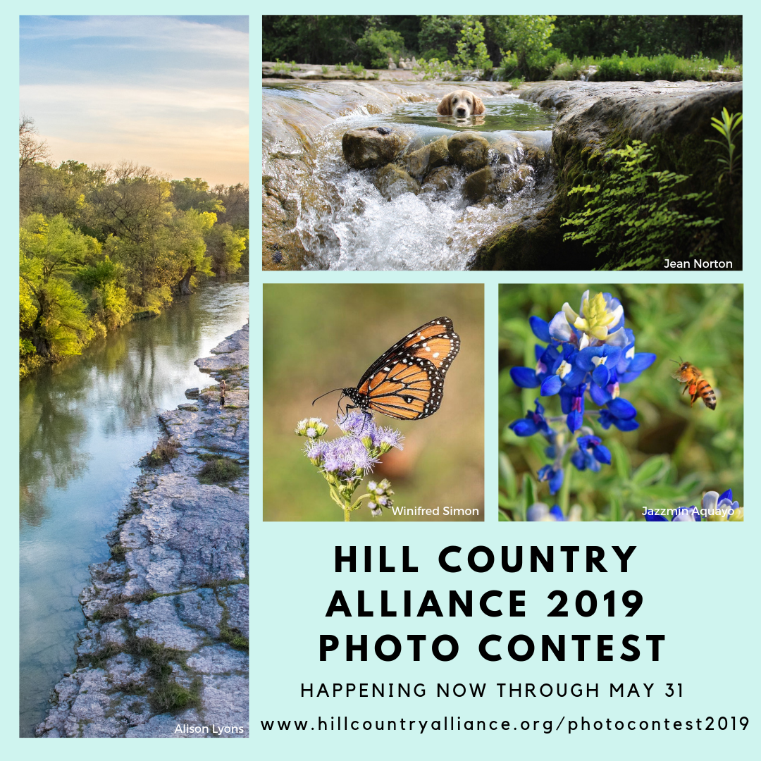 "Hill Country Alliance 2019 Photo Contest – ""The Hill Country: Capturing the Color and Character of the Heart of Texas"""