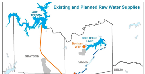 New manmade lake to bring clean, quality water to Rockwall county