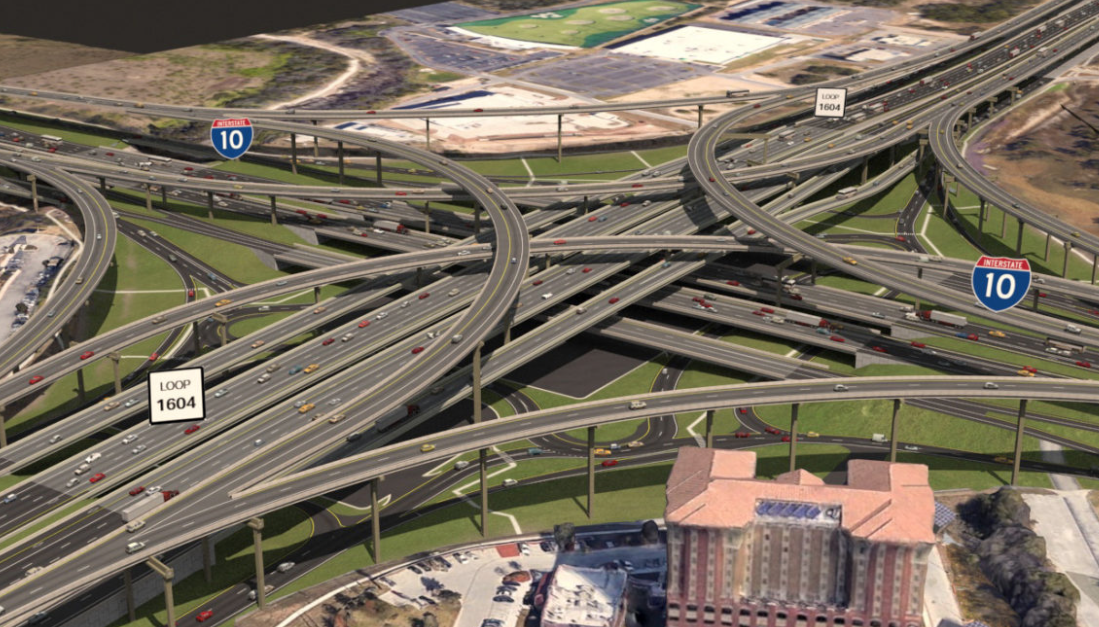 TxDOT unveils plan to widen Loop 1604