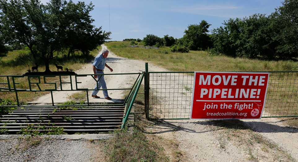 Landowners got one Hill Country oil pipeline moved. But can they do it again?