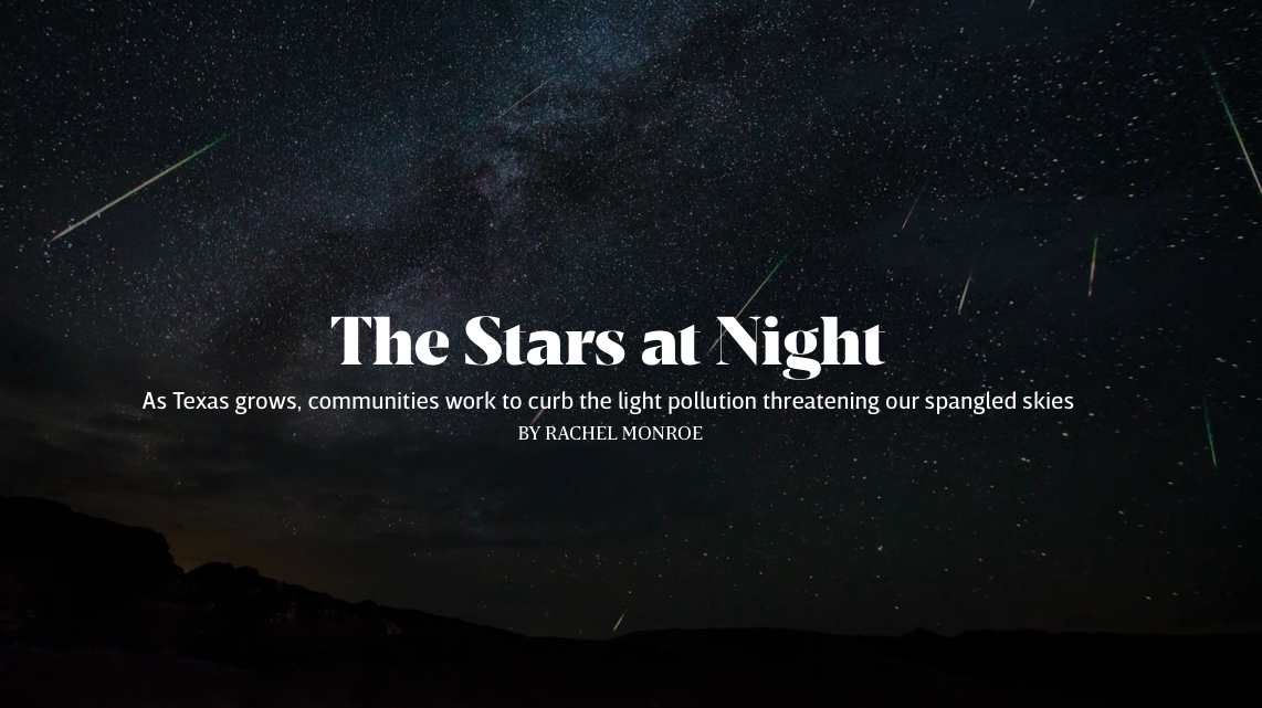 How communities are joining the fight to keep Texas' night skies big and bright