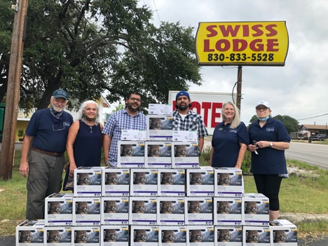 Swiss Lodge Gets HOT Fixtures