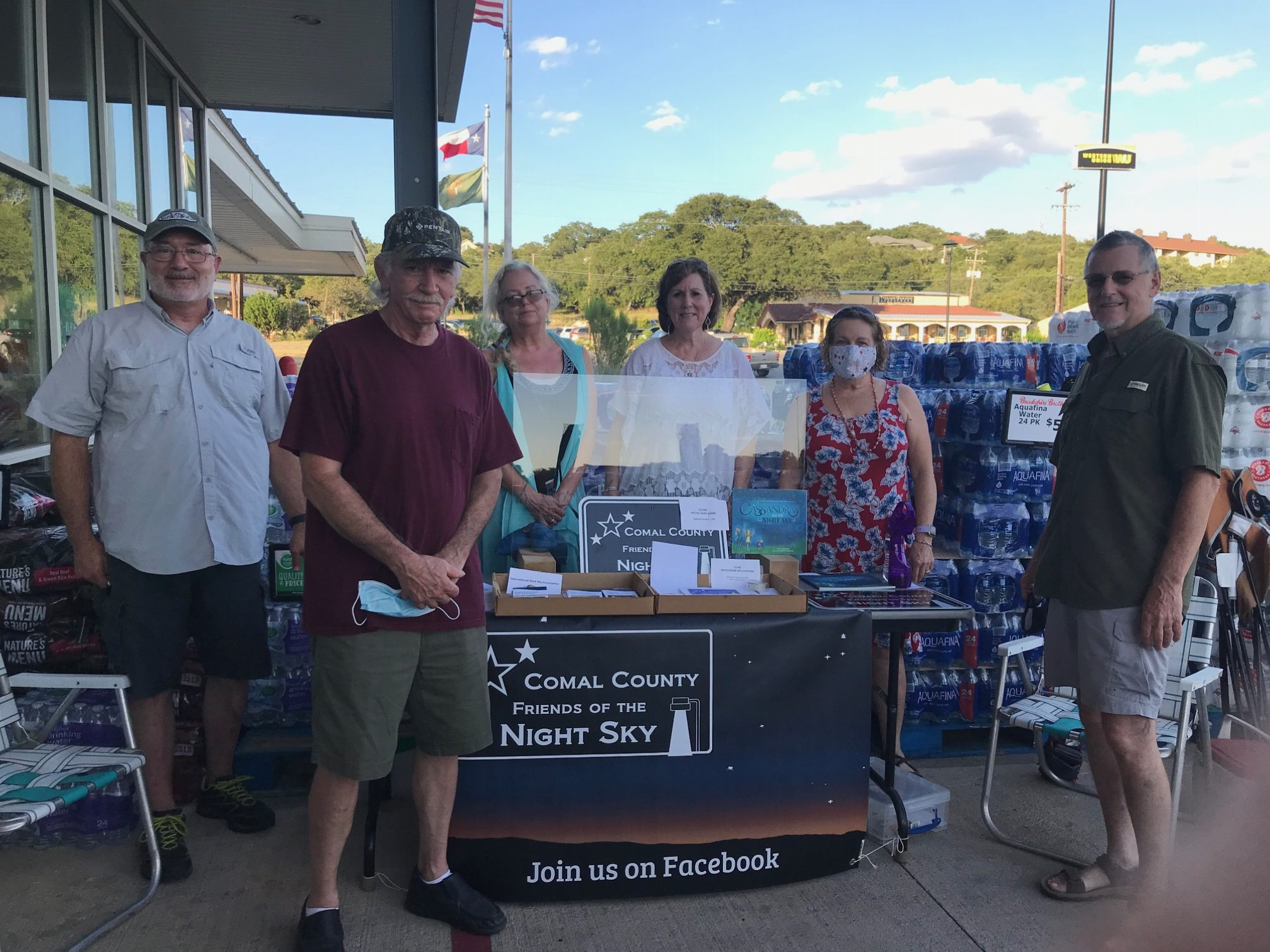 Catch some falling stars with Comal County Friends of the Night Sky