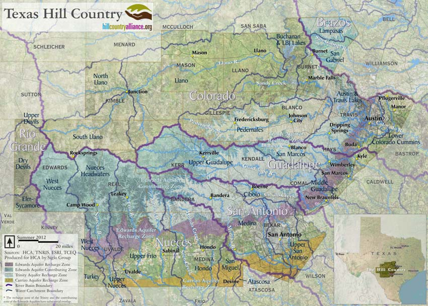 Alliance Texas Map Maps – Welcome to Hill Country Alliance