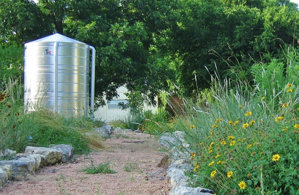 Livin' life by the drop: Rainwater systems flourish in Texas