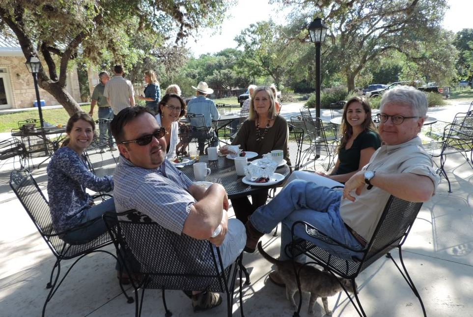 Board 2014 In Leakey, Leo, Paul, Karen, Sharlene And Katherine