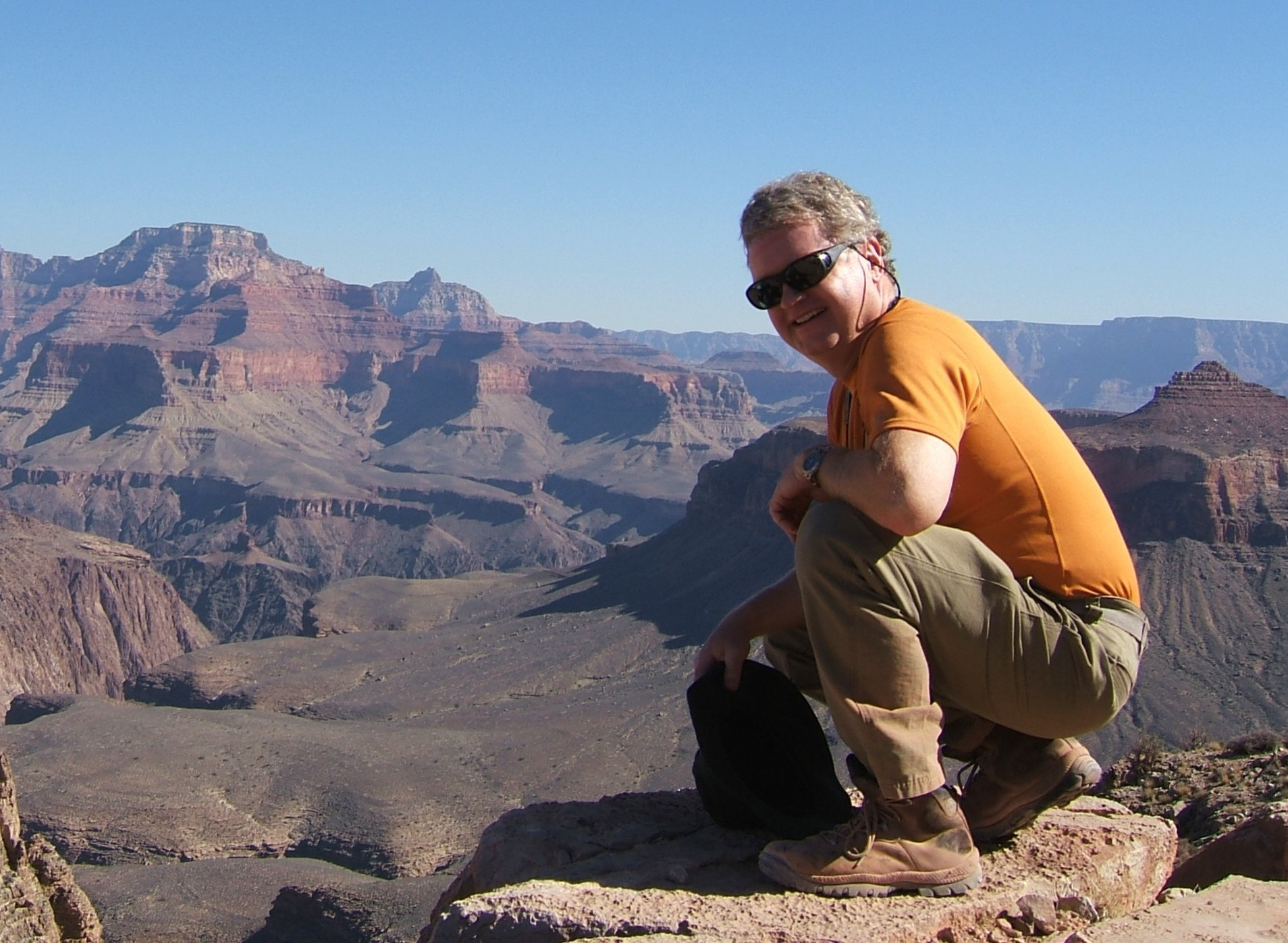 Leo Tynan – Grand Canyon Hike To The Base  2009