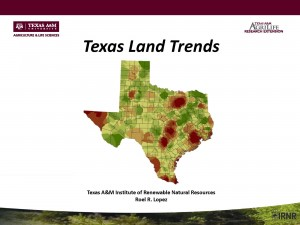 Roel Lopez Texas Land Trends