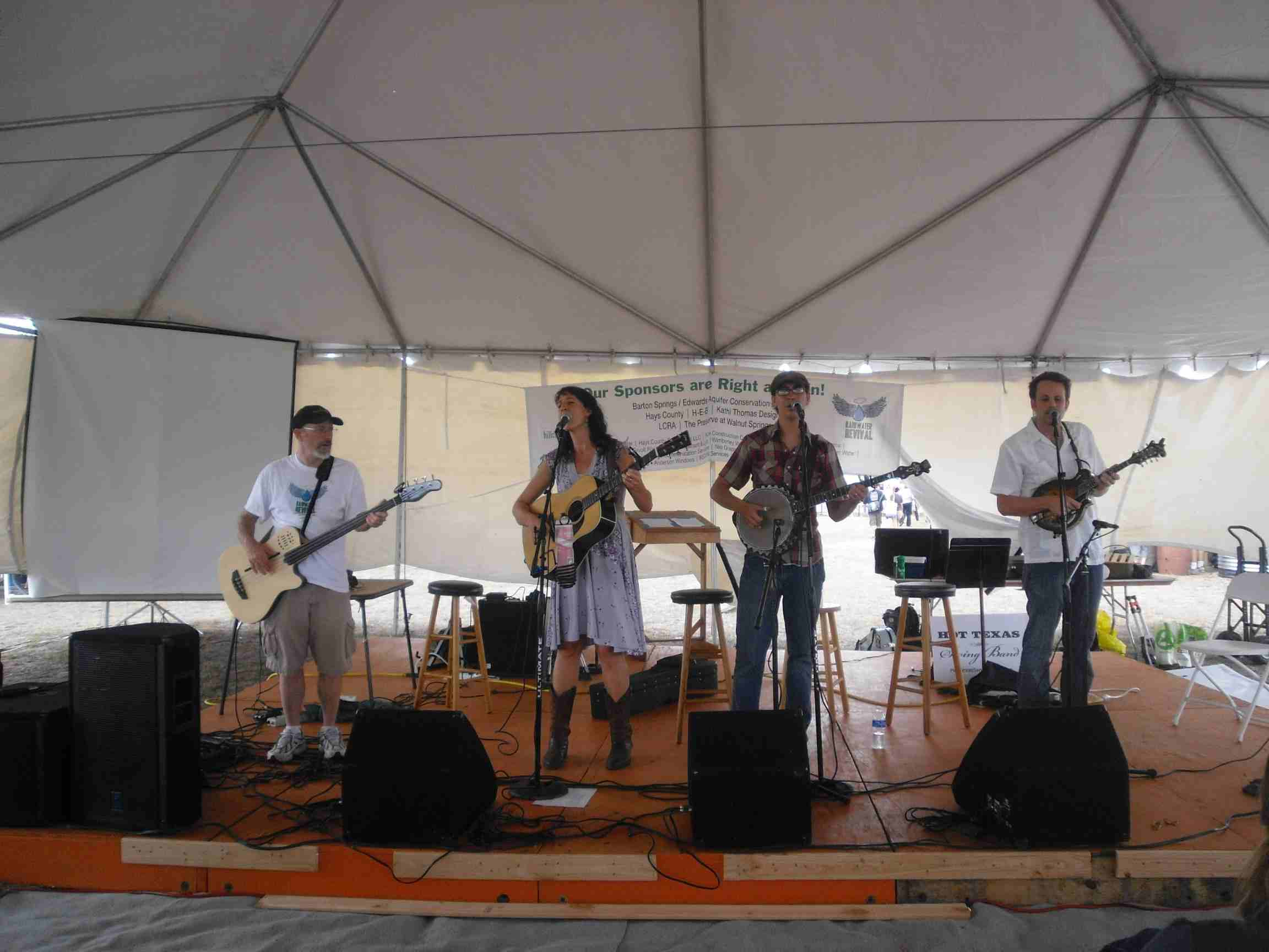 Lost Pines Bluegrass Band (2)