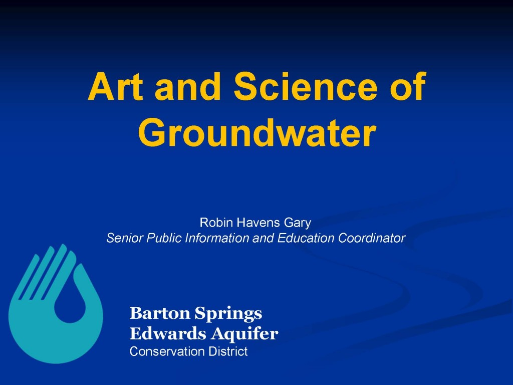 Cover_Robin Groundwater