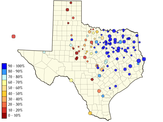 Get regularly updated water resource information on TWDB's Water Data for Texas webpage