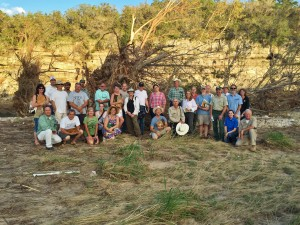 Let the river heal workshop attendees