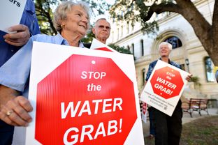 Public Hearing and Council Agenda item about San Antonio's water policy Thursday evening