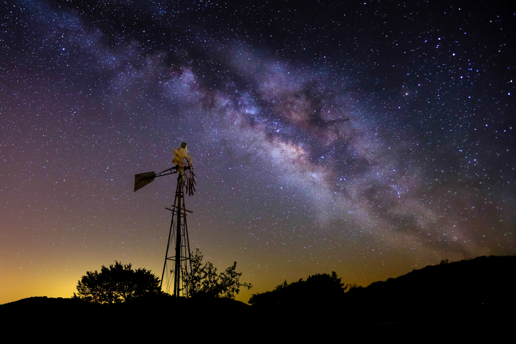 """Dark Skies"" comes to the Frio Canyon"