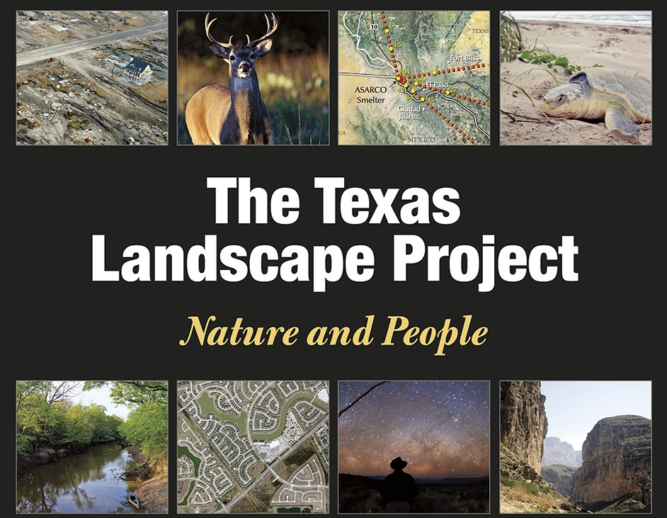 Texas A&M University Press' The Texas Landscape Project: Nature And People To Feature Maps Of Longtime HCA Collaborator Jonathon Ogren