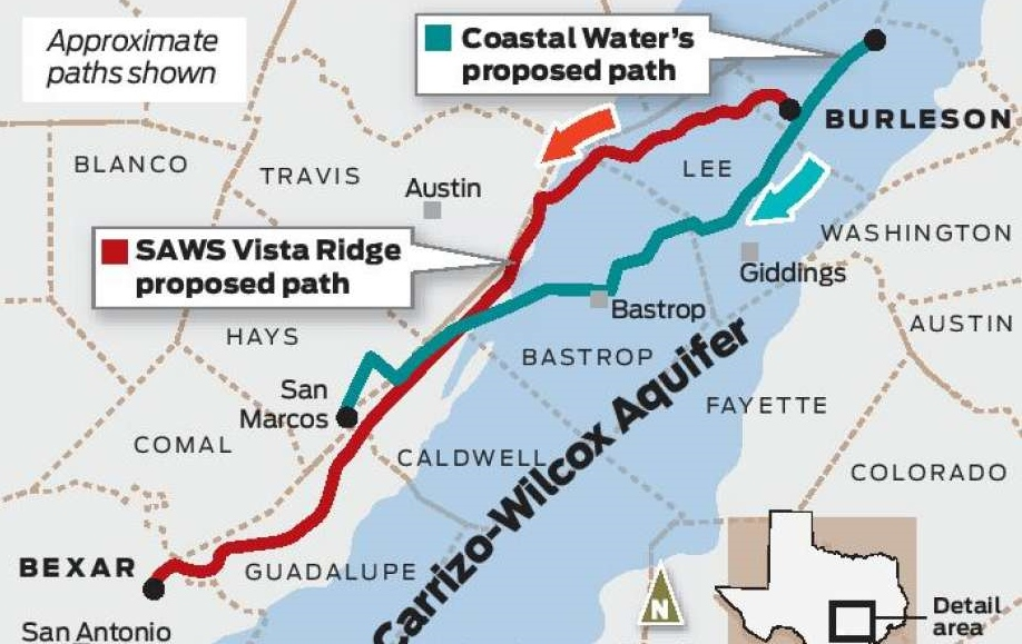 I-35 corridor could see more groundwater from Burleson County
