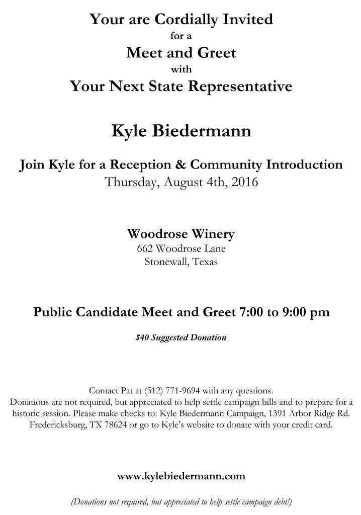 Rep-Elect Biedermann_Meet and Greet