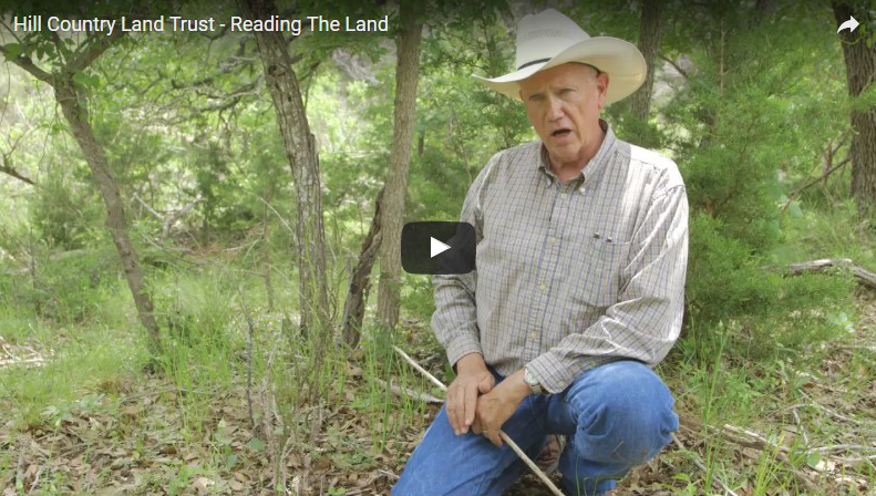 Hill Country Land Trust Video: Reading The Land